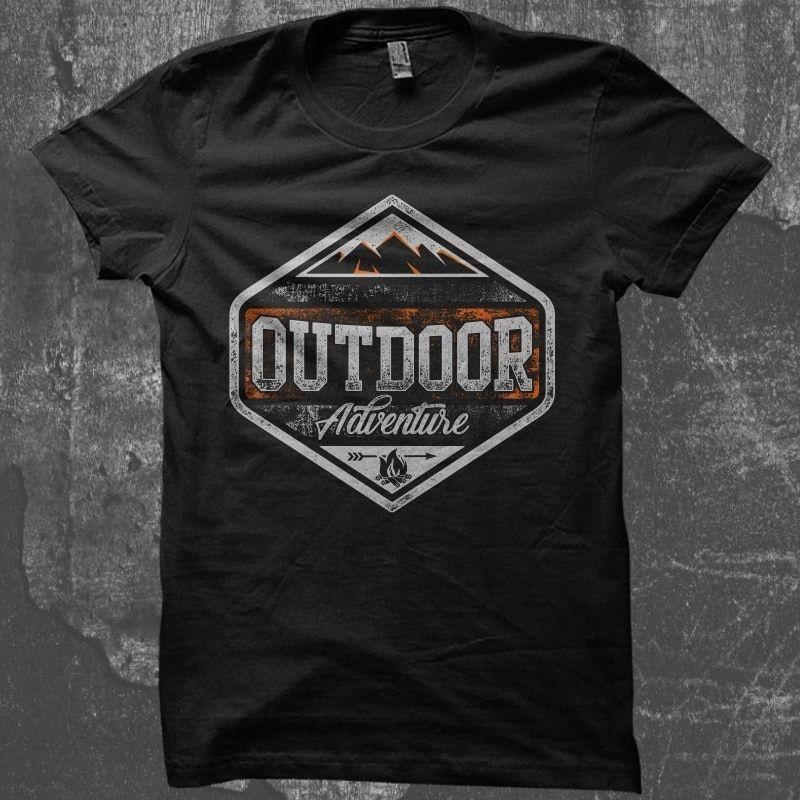 Download Outdoor Adventure T Shirt Design To Buy Buy T Shirt Designs Shirt Designs Tshirt Designs Custom Shirts