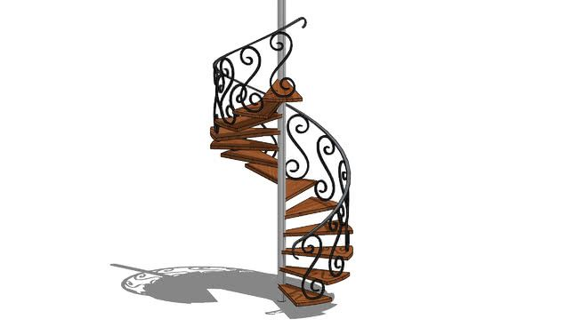 Best Stairs Wrought Iron Stairs Spiral Stairs 400 x 300