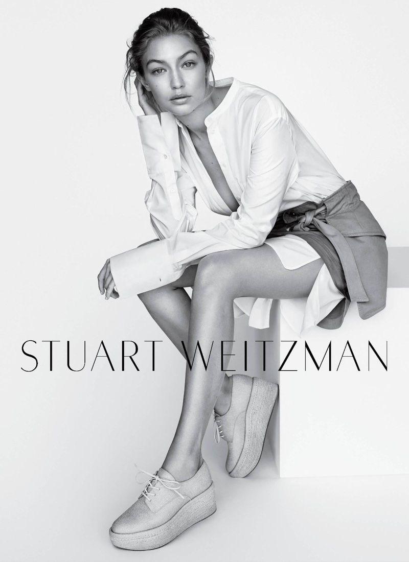 Gigi Hadid for Stuart Weitzman Spring 2019 Campaign