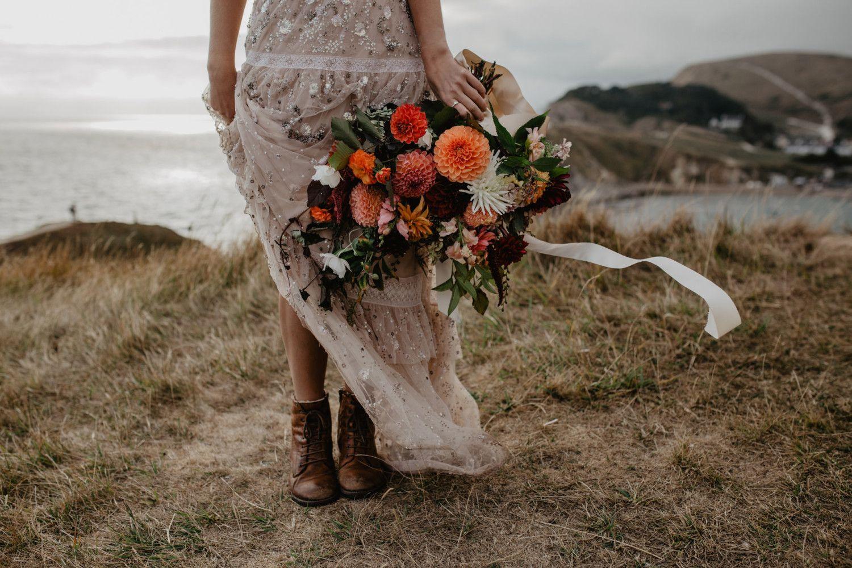 Lulworth Cove: A Wild Bride – Wed in The Wild. Elena Popa ...