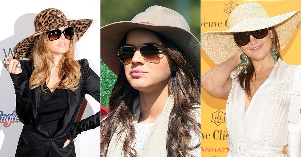 183012ec1c694 Resultado de imagem para como usar chapeu feminino no verão