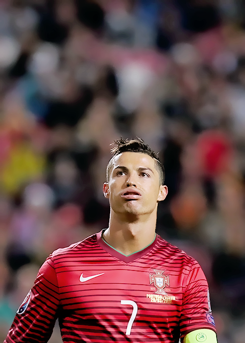 Portugals Cristiano Ronaldo Looks Up During The Euro Group I - Cr7 hairstyle 2015 vs serbia
