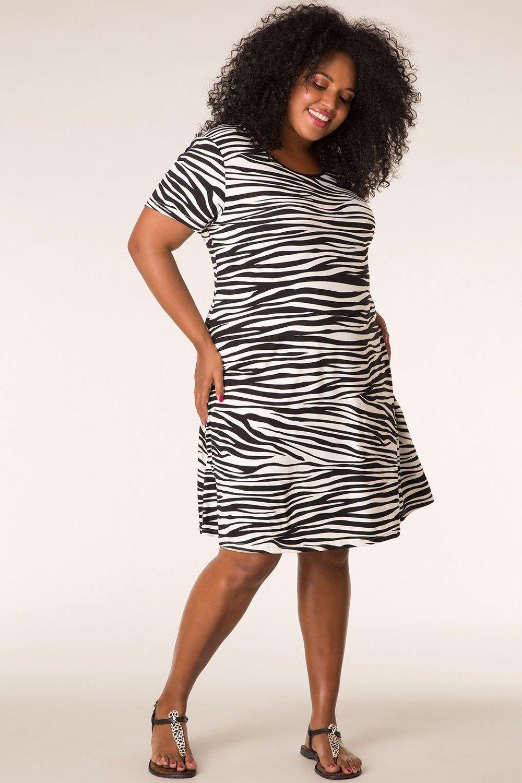 df3b56bb8d5e5b Jurk MIAMI Ivy Bella zebra  zebra  print  IvyBella  dress  outfits