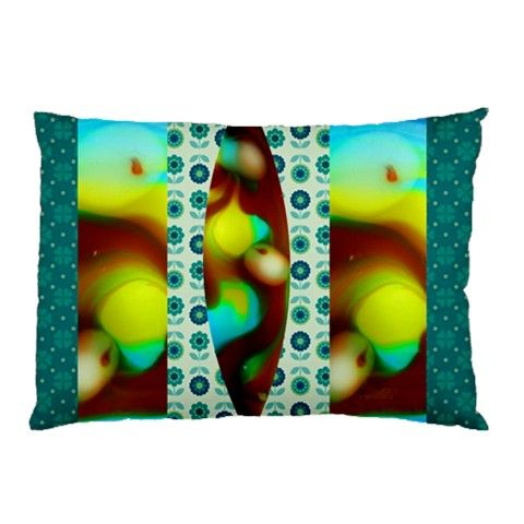 j Pillow Case (Two Sides)