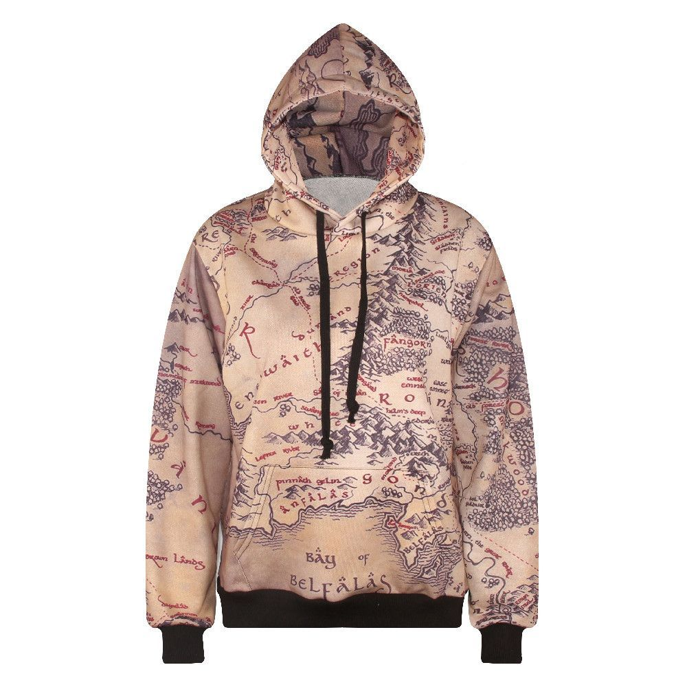 Lotr middle earth map hoodie free shipping middle earth lotr middle earth map hoodie free shipping gumiabroncs Image collections