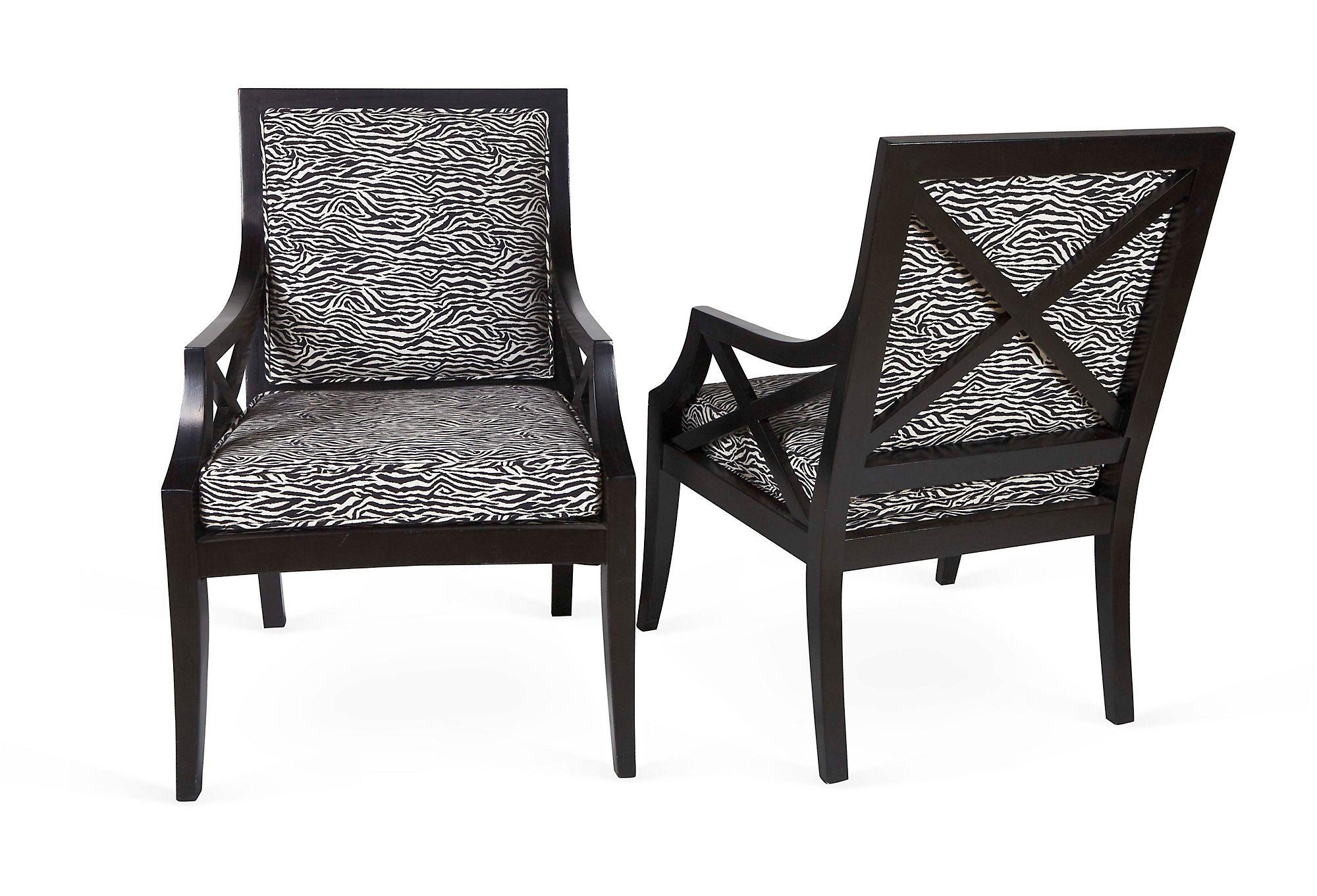 Zebra Chairs | Condo living room, Zebra chair, Condo living