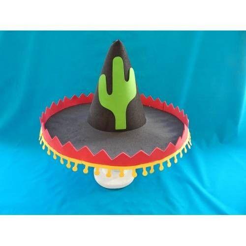 como fazer chapeu mexicano de papel - Pesquisa Google  ce414d3fccc