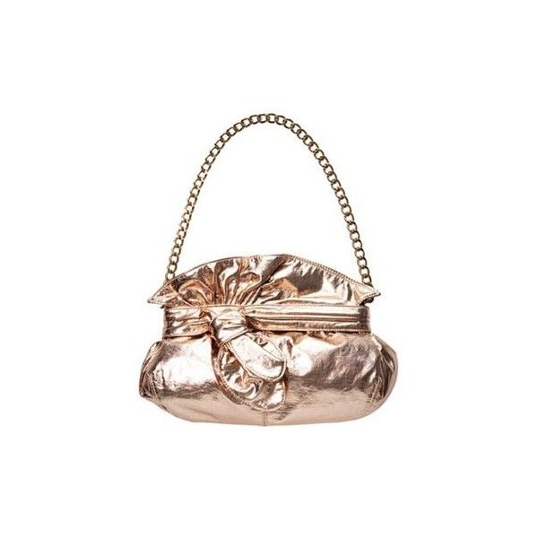 10 Best Metallic Bags, Under $100 ❤ liked on Polyvore