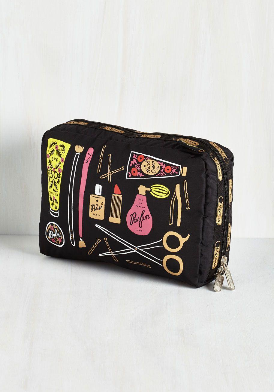 Monogrammed Cosmetic Bag Monogram cosmetic bag