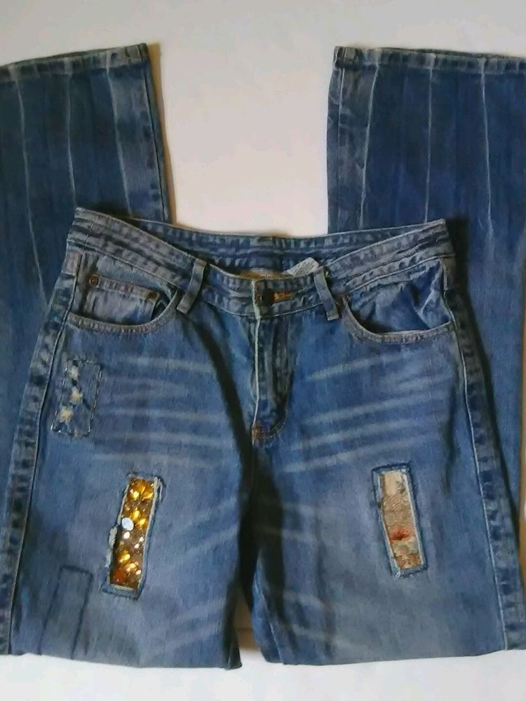 Newport News Jeanology Collection Womens Hippie Festival Jeans Sz 8 Jeanology Bootcut Http Www Ebay Com Itm 152576237460 Via Women Hippie Festival Fashion