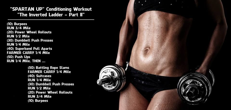 Spartan Up Conditioning Workout