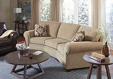 Miller Conversation Sofa from the Miller collection by Broyhill Furniture