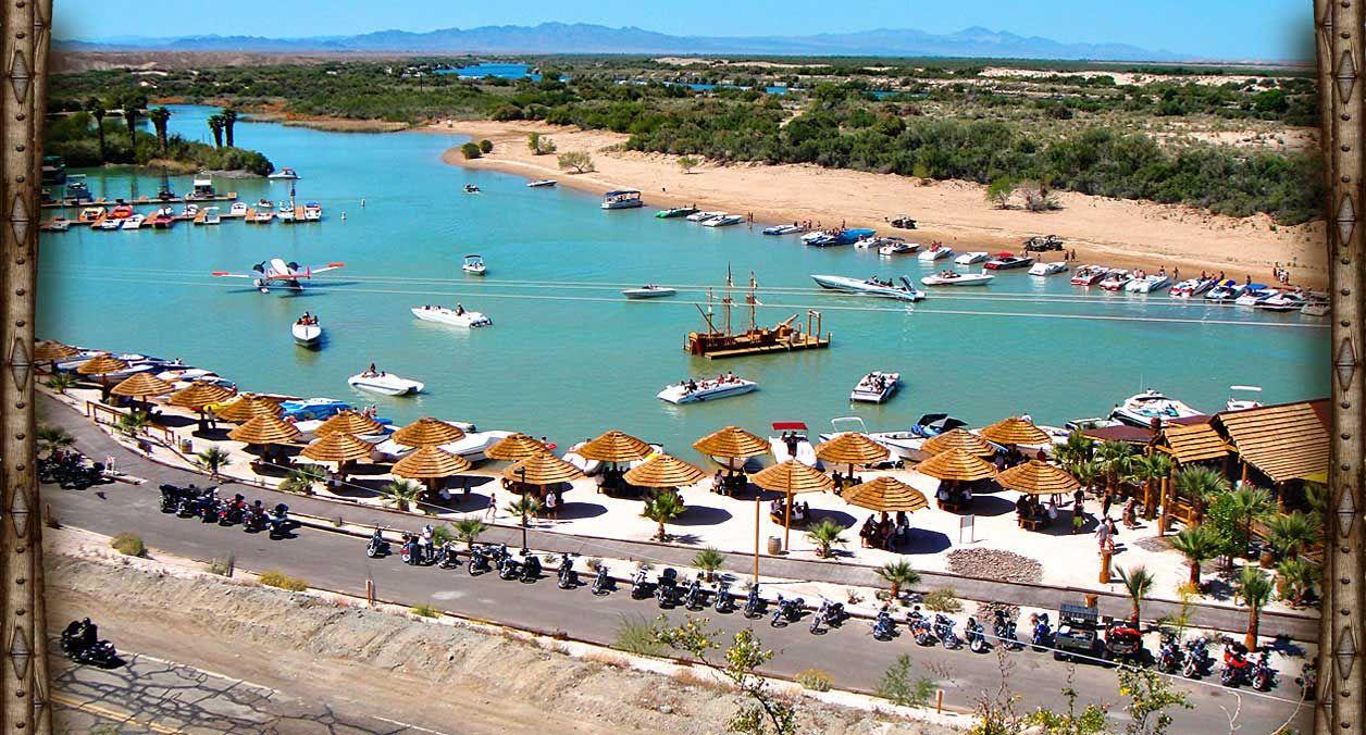 Pirate cove resort on the colorado river near needles calaughlin nv