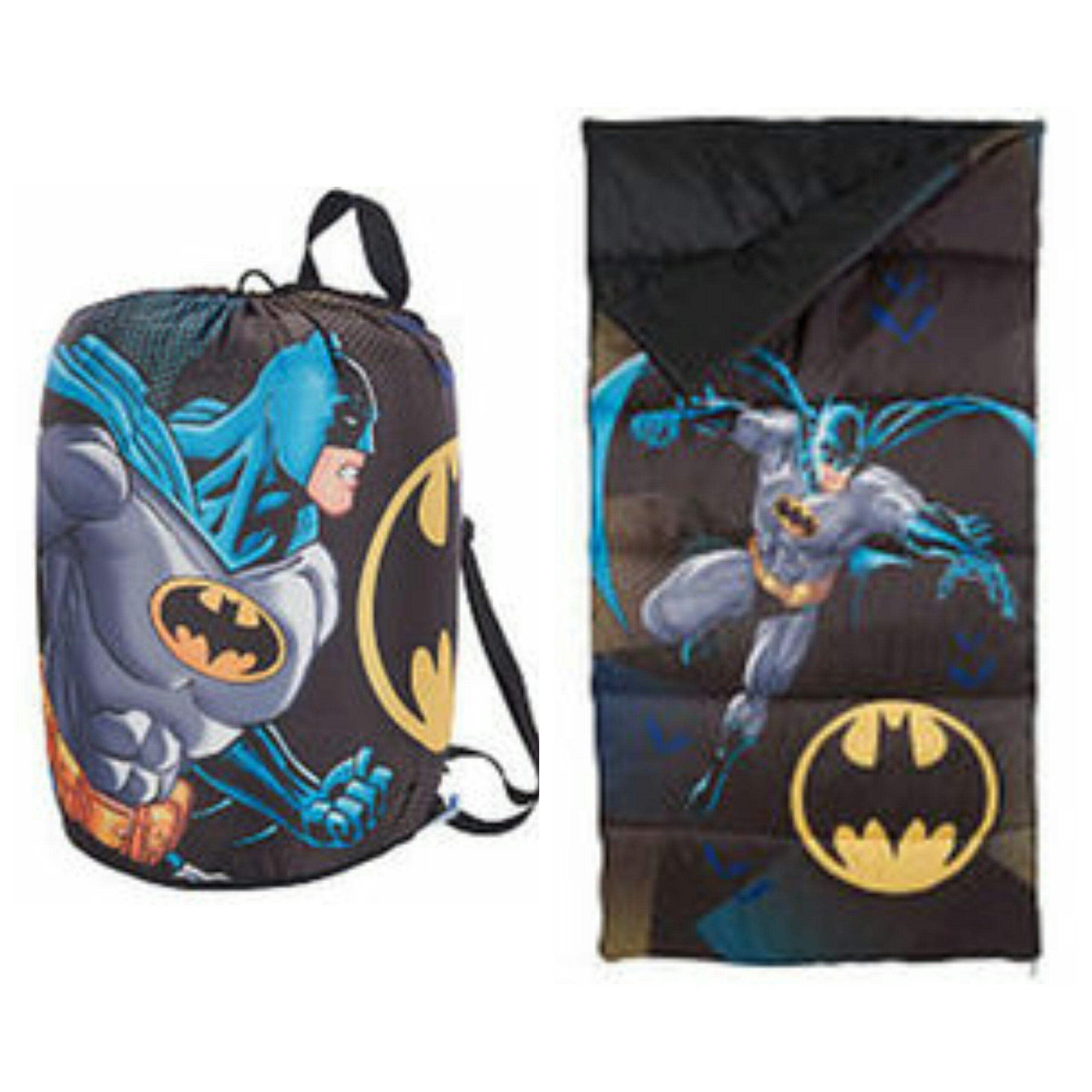 online store 68f77 1827b Batman The Dark Knight Kids Slumber Bag with Carry Sling ...