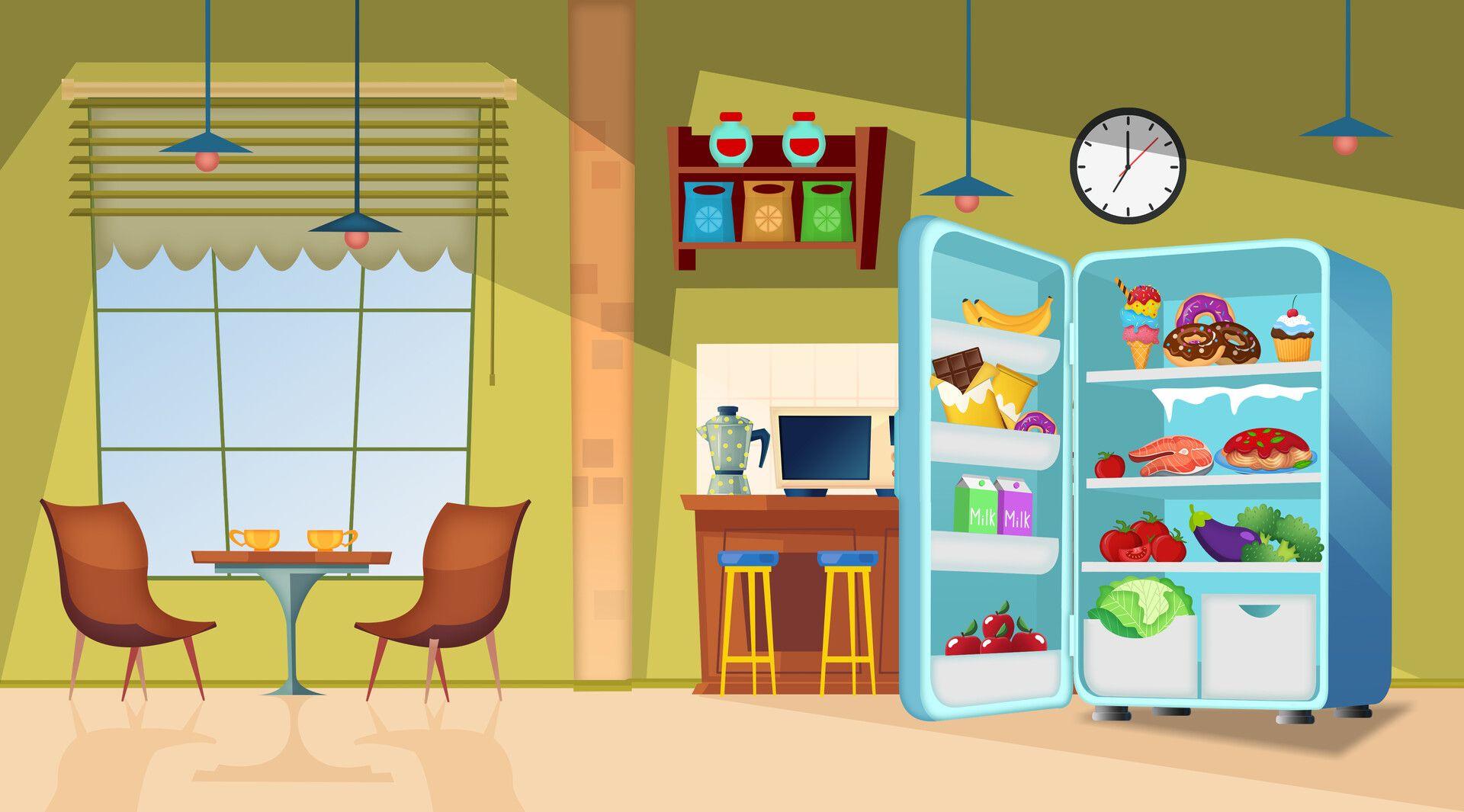Kitchen Scene Kittyphone Cartoon And Song By Bozhena