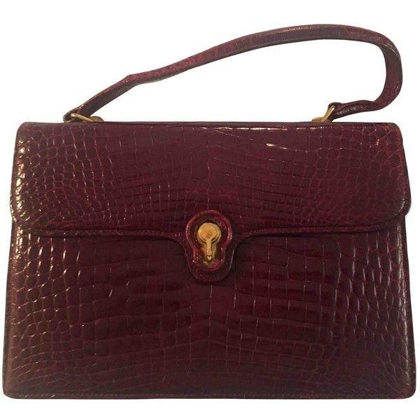 916f86392ed Pre-owned Gucci Alligator Handbag (31