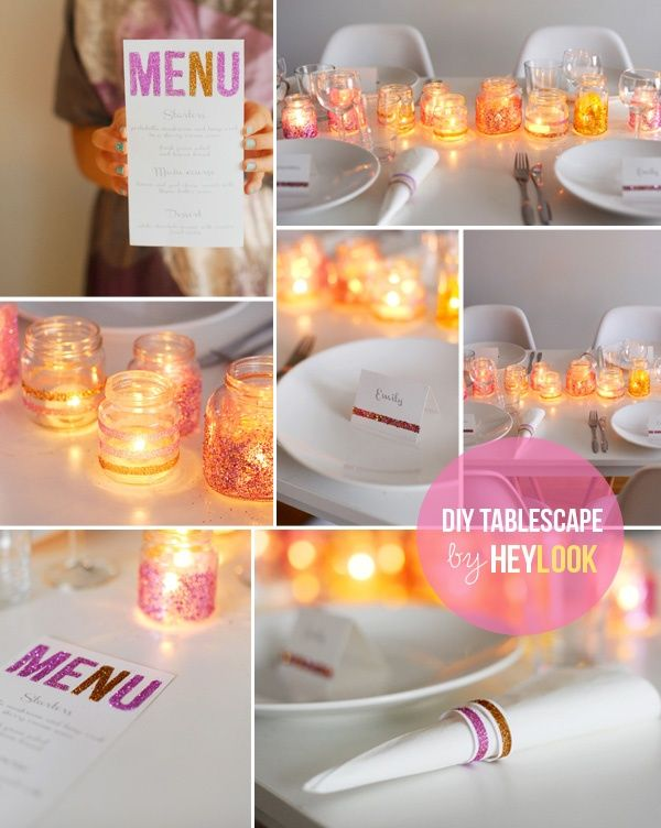 I want to do this with baby food jars but add the glitter on the inside and do tea lights for a RS Activity decoration.