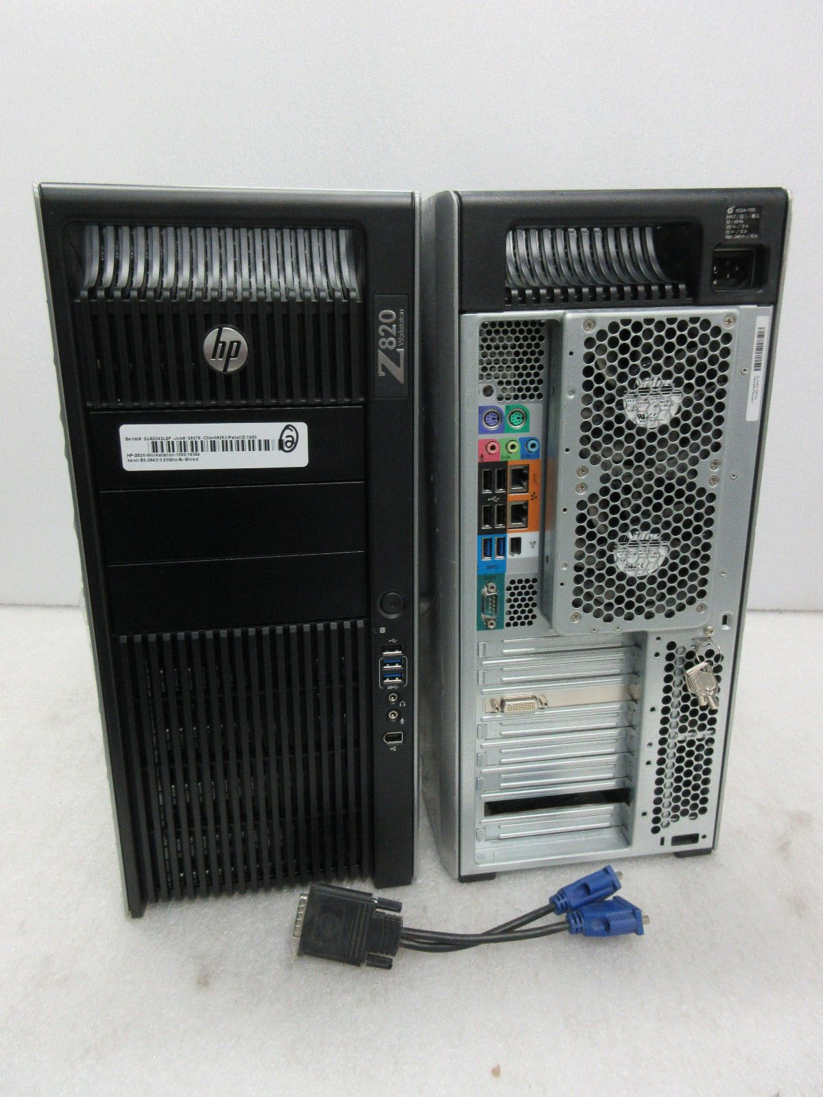HP Z820 Workstation 6 Core Xeon E5-2643 v2 3 50ghz 16GB