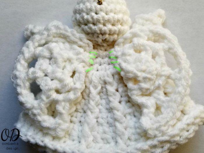 Crochet Angel Ornament Pattern | Pinterest