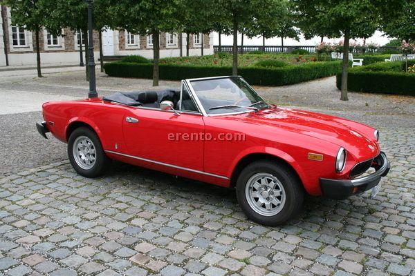 fiat 124 pininfarina spider oldtimer cars oldies. Black Bedroom Furniture Sets. Home Design Ideas