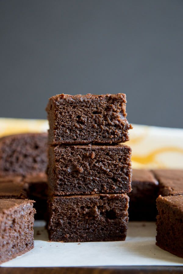These Brownie Butter Mochi are the chocolate version of the delicious Hawaiian butter mochi, made w