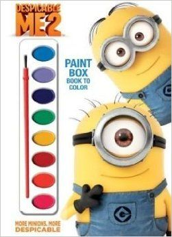 Despicable Me 2: More Minions, More Despicable [With Paint Brush and Paint] (July 01, 2013): Unknown: Amazon.com: Books