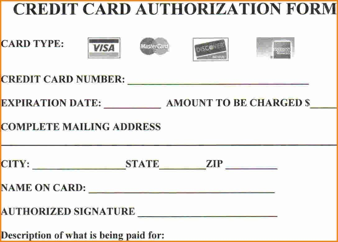 Are You At Risknot Using Credit Card Authorization Forms With Regard To Credit Card Authorizat In 2020 Credit Card Application Credit Card Application Form Credit Card