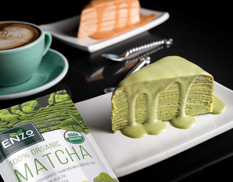 Matcha Green Tea Powder 4oz Organic Vegan