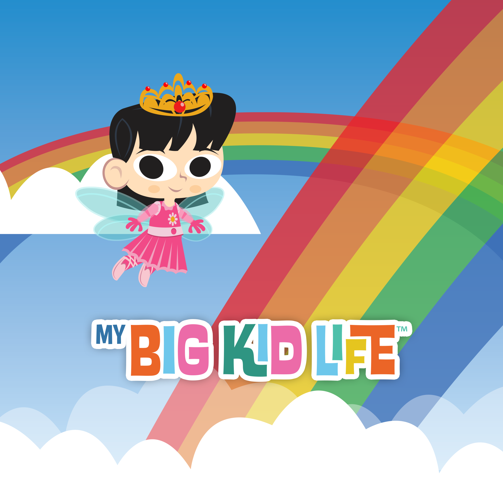 This Colorful Big Kid Life Fairy Princess Background From Fingerprint Is Perfect For Your Mobile Device Or Tablet Wallpaper App Iphone Wallpaper New Ipad