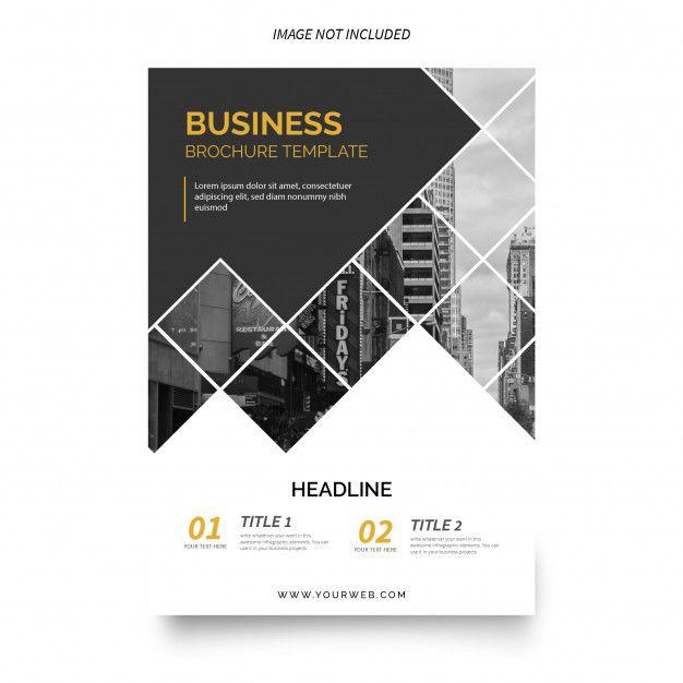 Modèle De Brochure D'entreprise Moderne | Téléchargez maintenant des vecteurs gratuits sur Freepik