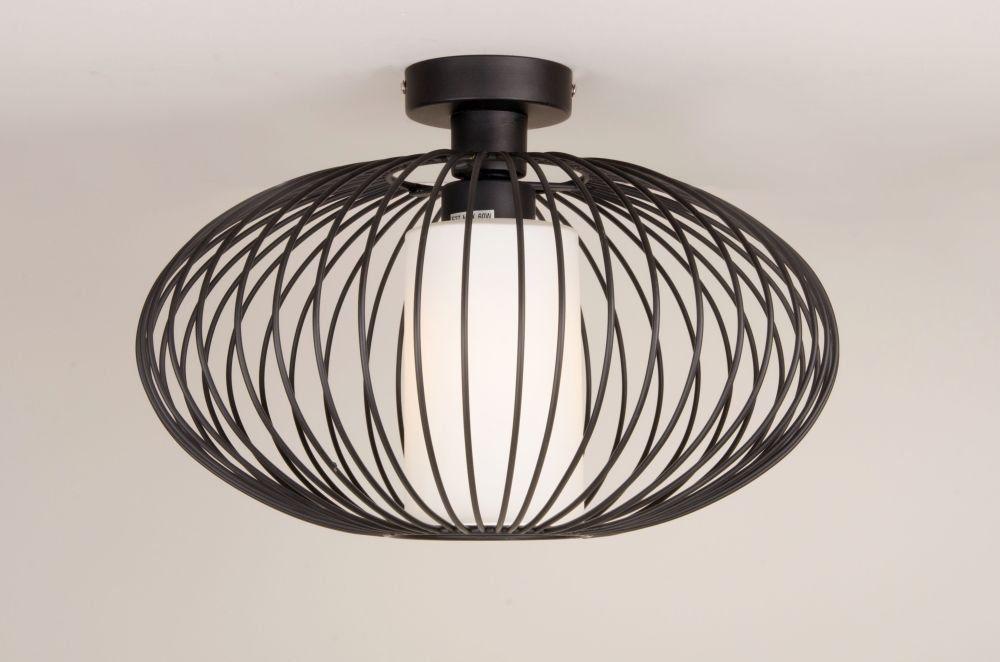 Zen Oriental Style Black Low Ceiling Flush Light Lights Lighting And Online