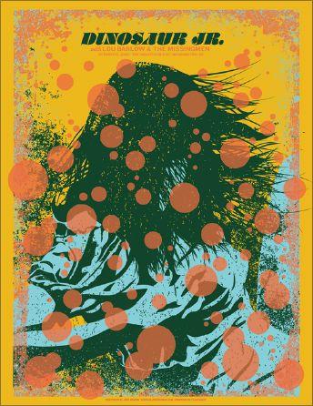 El Jefe Design Store Dinosaur Jr Music Poster Design Jr Art