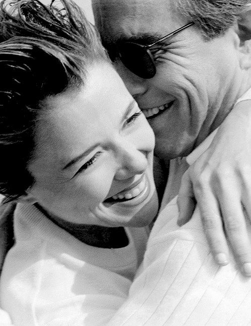 Herb Ritts, Annette Bening and Warren Beatty © Herb Ritts Foundation