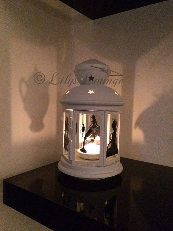 Beauty and the Beast Inspired Lantern Tea light holder
