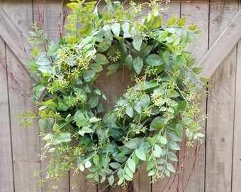 Photo of Fall door decor, Yellow Burlap Sunflower wreath, Fall Sunflower wreath for front door, Everyday wreath, Year round wreath, Summer decor