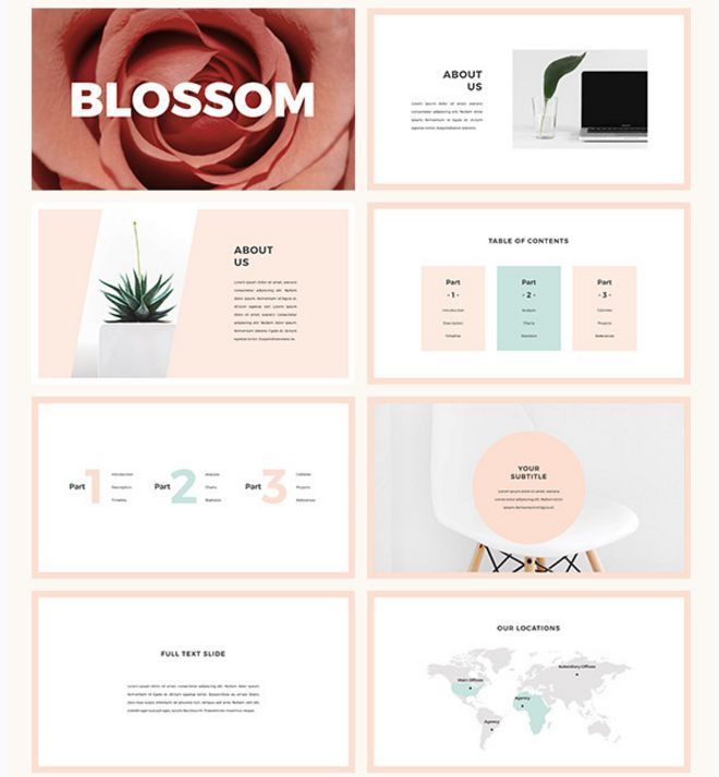 32 Professional Powerpoint Templates For Better Business: 20 Attractive & Professional PowerPoint Templates