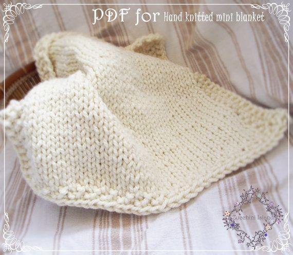 Knitting Pattern Pdf To Knit A Chunky Baby By Zucchiniislandknits