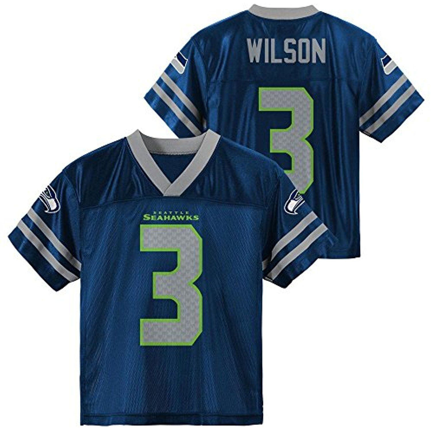 46df9e35648 Russell Wilson Seattle Seahawks Navy Blue Home Player Jersey Youth -- Click  image for more details. (This is an affiliate link) #Shirts