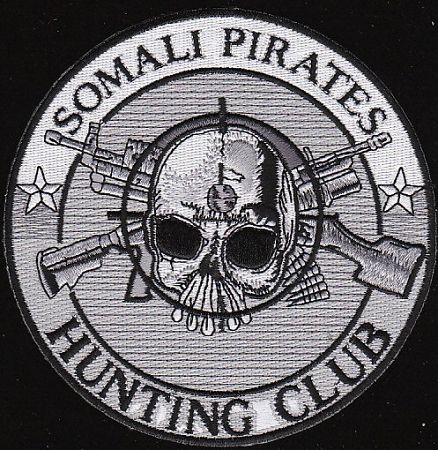 Somali Pirates Hunting Club Military Patch $7.75