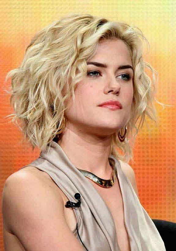 Short Summer Haircuts For Thick Hair : Curly hairstyles medium pixie cut for blonde hair women