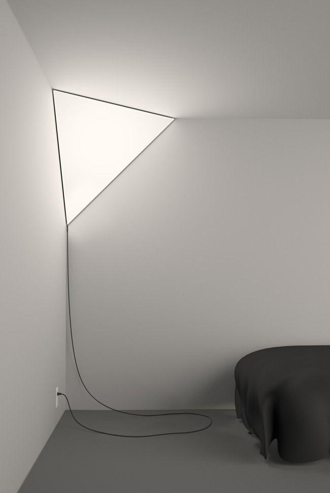 Corner lightso cool pinterest corner for Cool home lighting