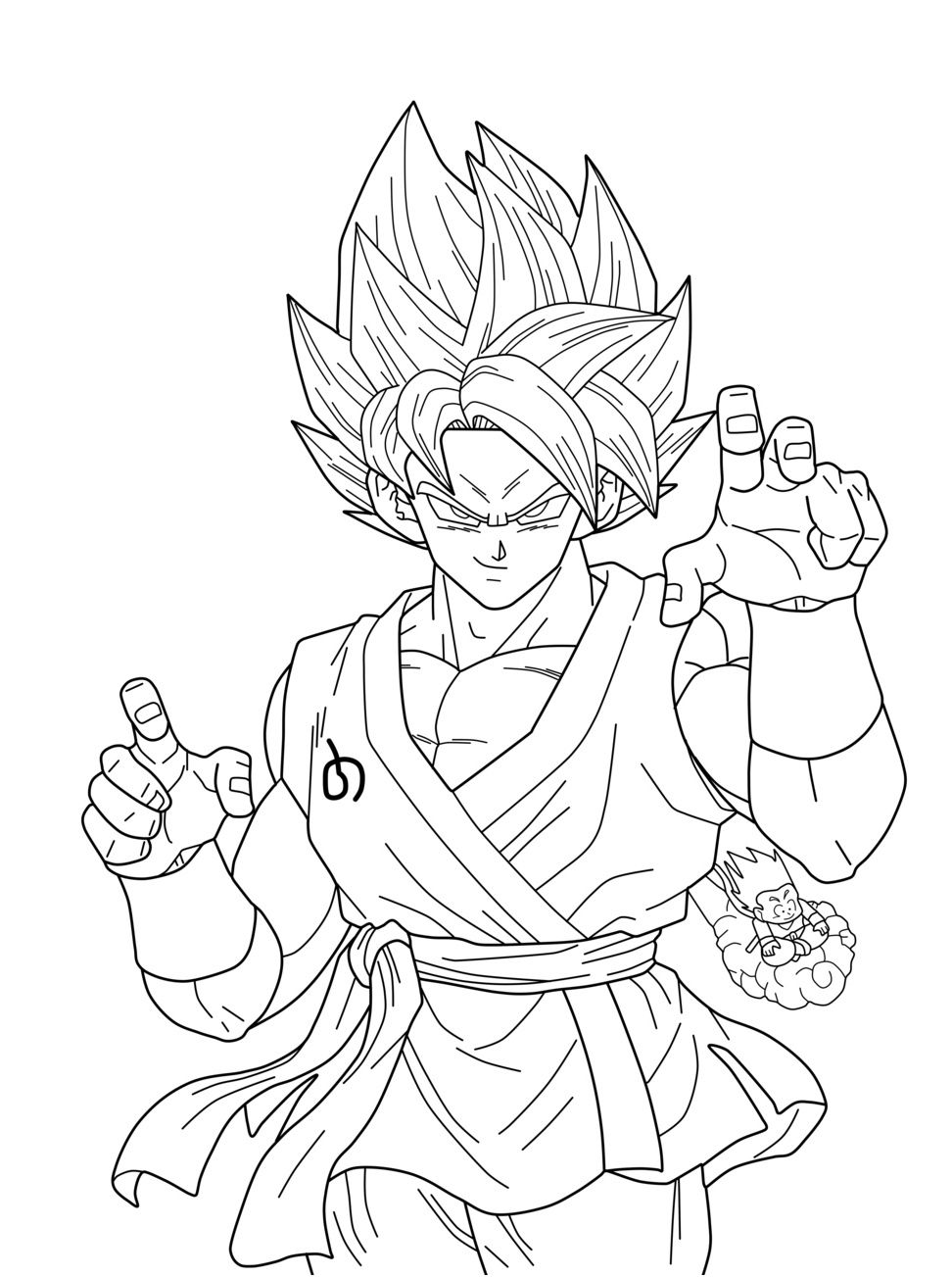 15 Pratique Coloriage Dragon Ball Super Broly Pictures Super