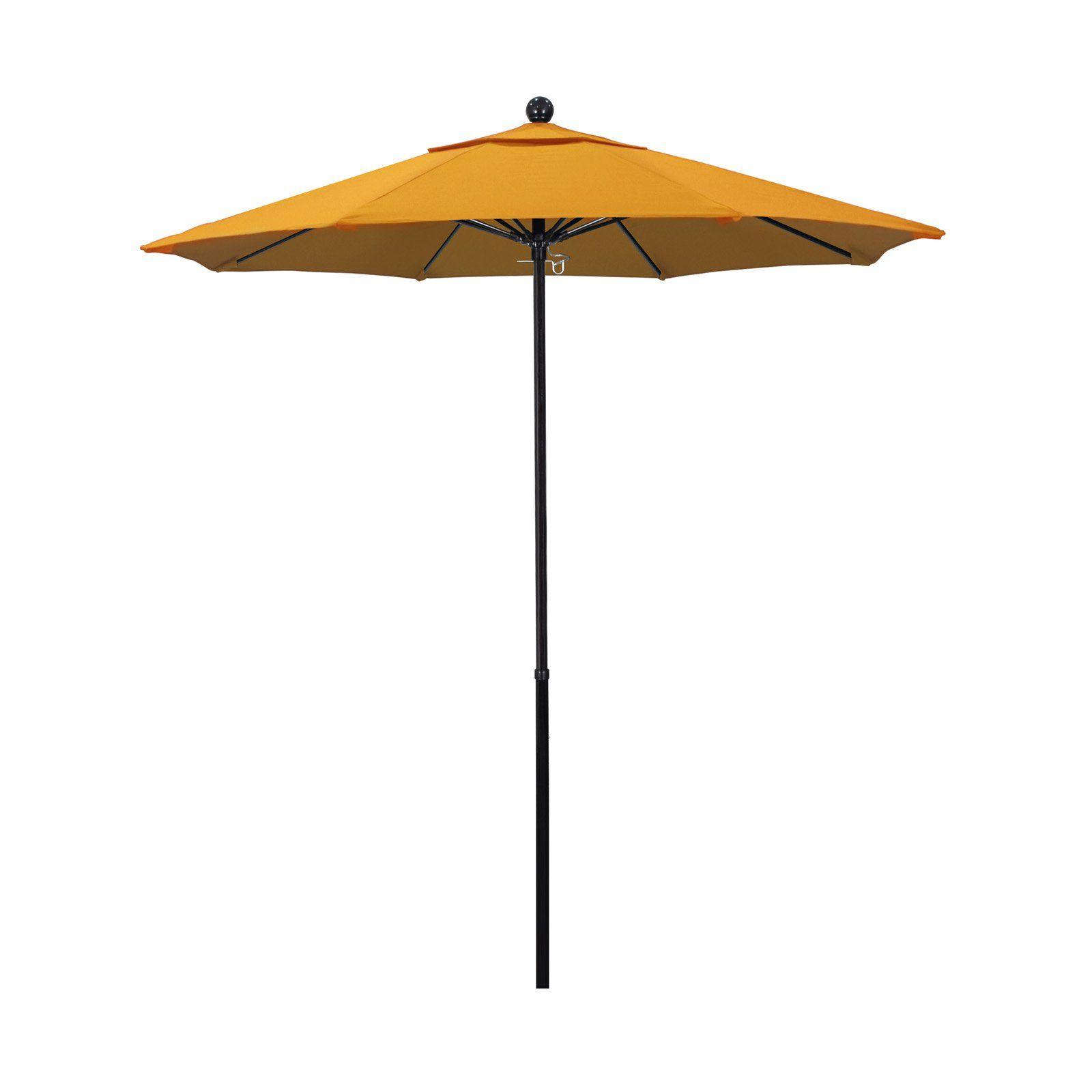 Outdoor California Umbrella 7 5 Ft Complete Fiberglass Pacifica
