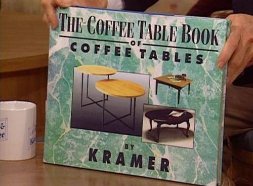 Kramer...the coffee table book that becomes a coffee table:) - Kramer...the Coffee Table Book That Becomes A Coffee Table:) Lol
