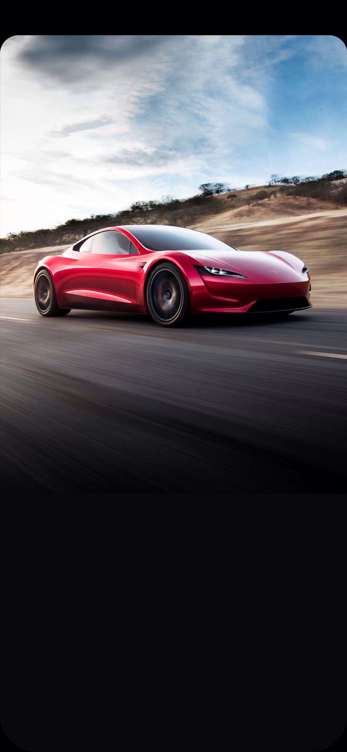 ปักพินโดย Wallpapers Phone&Pad HD ใน Tesla Roadster for
