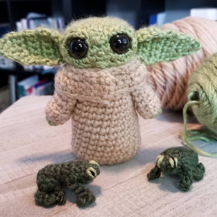 Crochet Your Very Own Baby Yoda, Now You Can Etsy baby