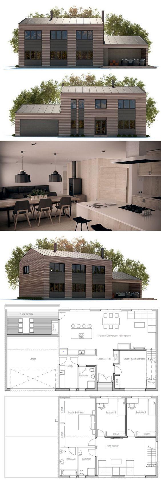 U küchendesignpläne plan de maison  architecture  pinterest  haus haus design und