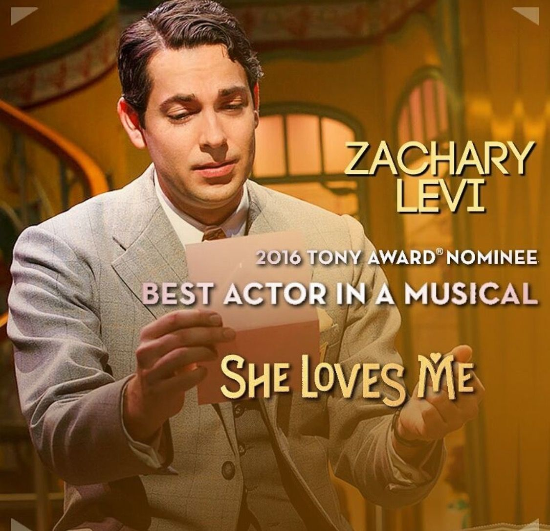 He Should Be The Next Tom Hanks Just Sayin Zachary Levi Broadway Nyc She Loves Me Musical