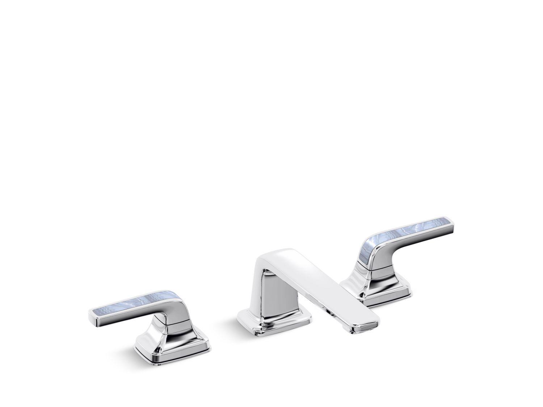 Per Se™ Sink Faucet, Calcedonia Azul Lever Handles | Design ...