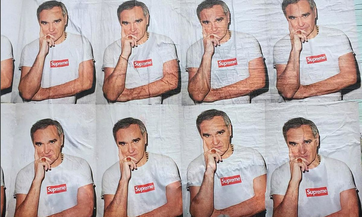 Morrissey in photoshoot beef with Supreme Photoshoot